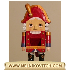 The Nutcracker, a wooden handmade doll - fairy tale by E. T. A Hoffman