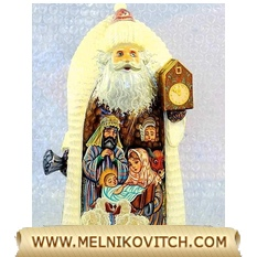Santa Claus - Christmas Witness at Bethlehem (Birth of Jesus)