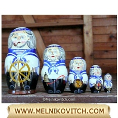 Sailor NORD: Matryoshka doll 5pc
